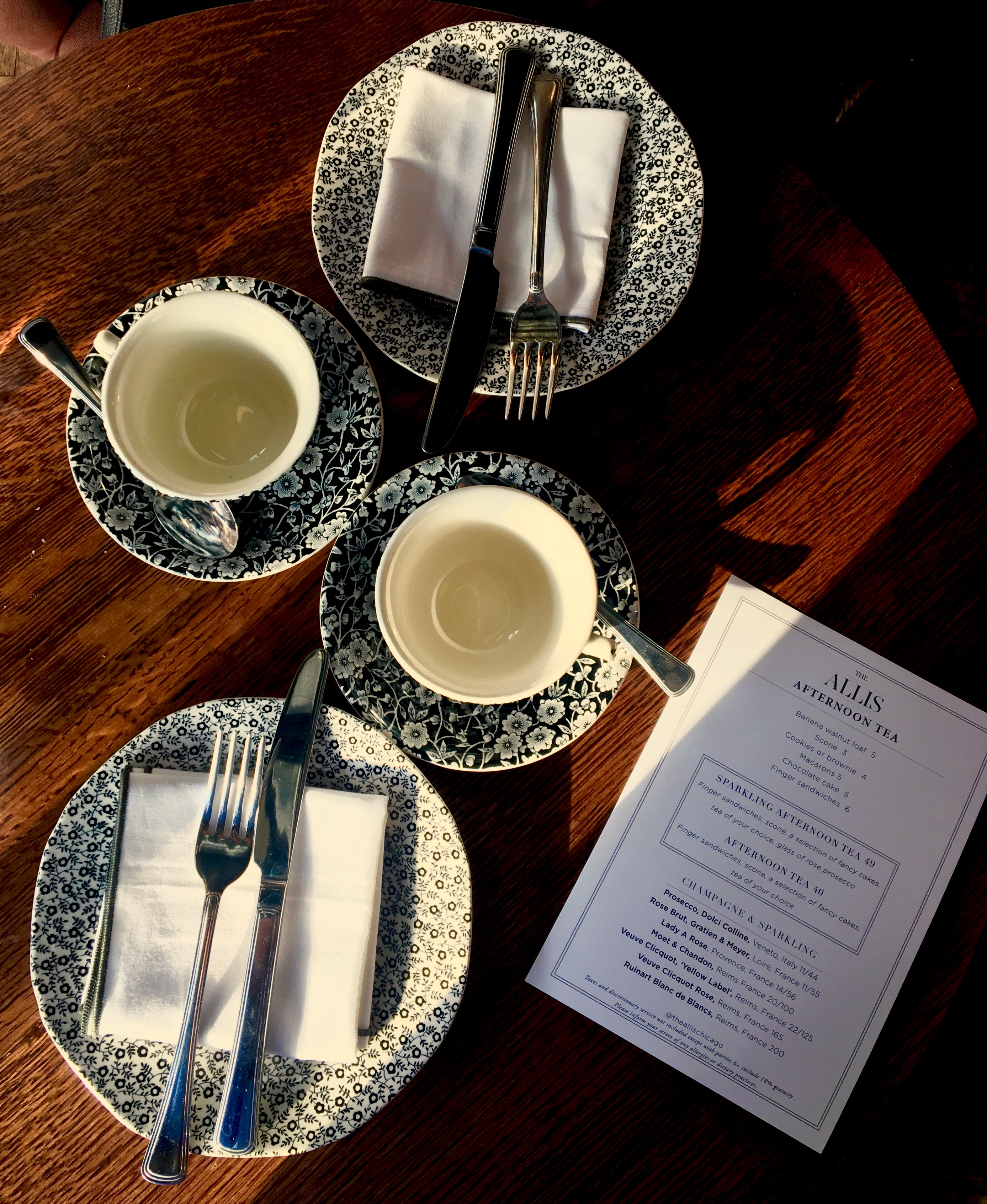 Afternoon Tea at the Allis | Soho House - Chicago Visitors Guide